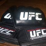 Luvas UFC Leilão Beneficente