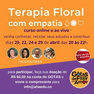 Curso online de Terapia Floral